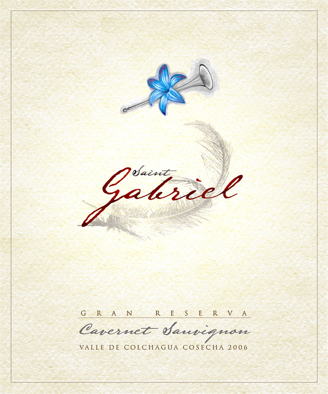 Vino Gabriel Etiqueta