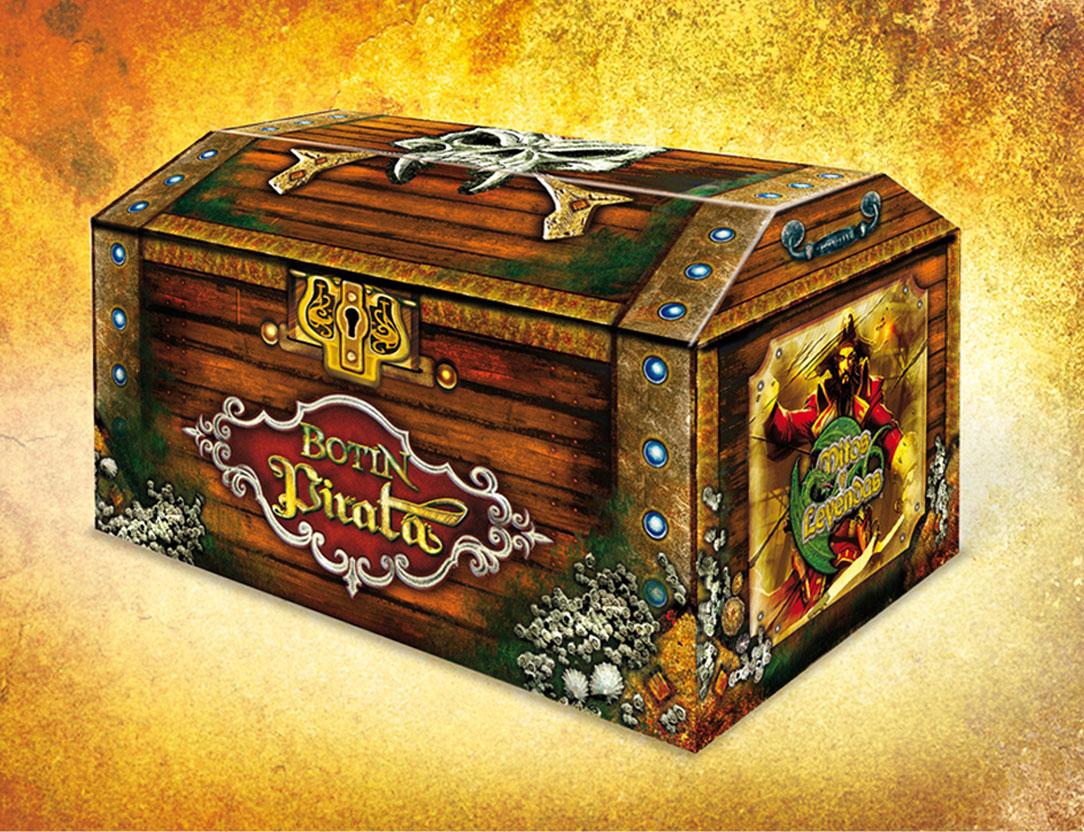 Botín Pirata Packaging