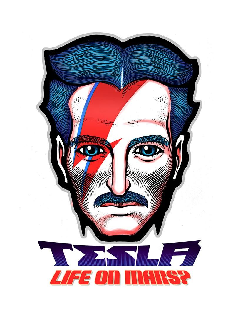 Tesla Life on Mars